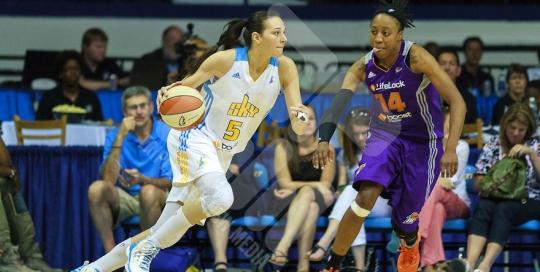 WNBA 2012: JUN 29 Phoenix at Chicago